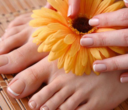Gepflegte Füße und Hände